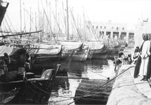 الميناء القديم في العاصمة
